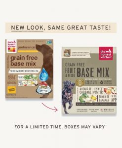 The Honest Kitchen Dehydrated food base mix