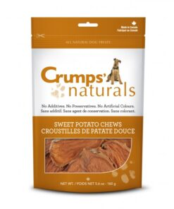 Crumps Naturals Sweet Potato Chews for dogs
