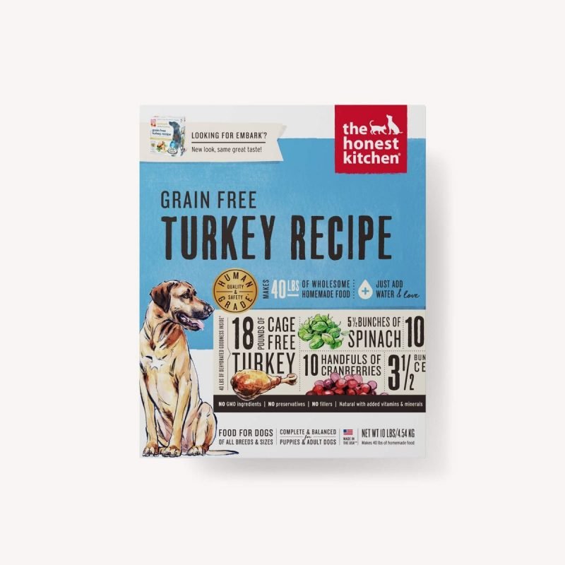 Honest Kitchen Embark: The Honest Kitchen-Embark Turkey Dehydrated Dog Food