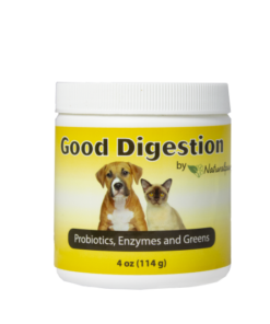 Naturalpaw Good Digestion probiotics for pets