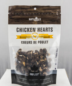 Naturawls Chicken hearts dog treats