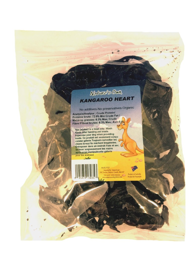 Nature S Own Kangaroo Heart 227g Biopaw