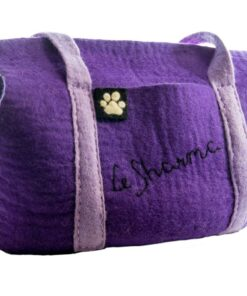 Wool Pet Carrier by Le Sharma
