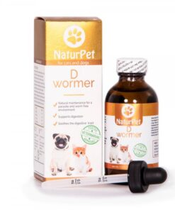 Naturpet D-Wormer deworming for dogs and cats