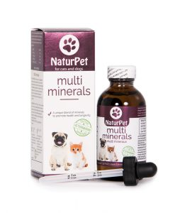 Naturpet multi-minerals and vitamins