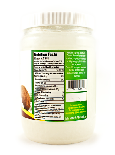 Coconut Oil-Organic-Extra-Virgin-28oz