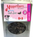 Yappetizers duck-liver dog treats