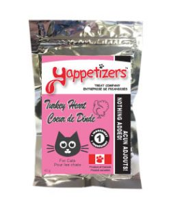 Yappetizers Turkey Heart Cat Treats