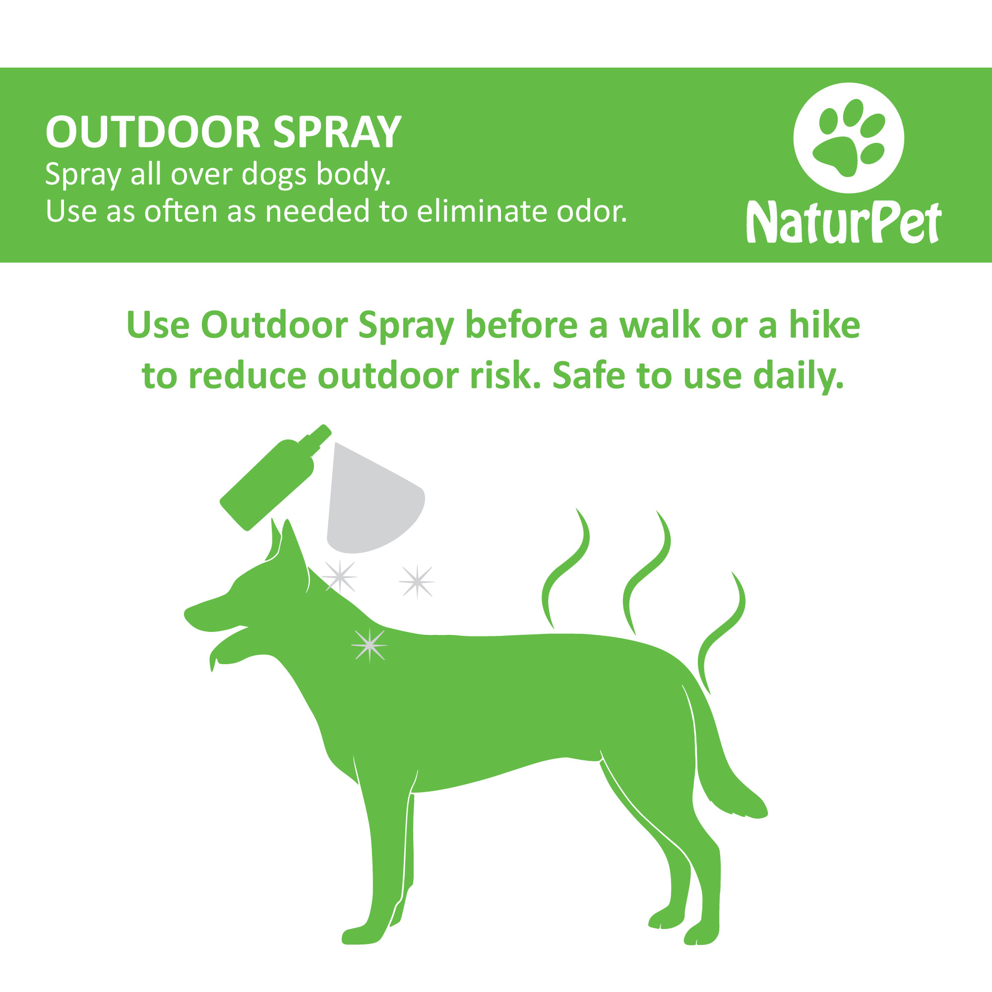 Natural insect repellent outdoor-spray