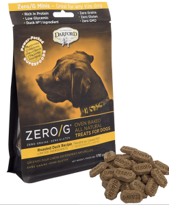 Darford Duck Zero/g minis dog treats
