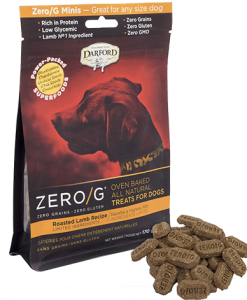 Darford Lamb Zero/g minis dog treats