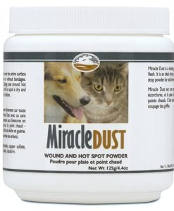 Carnivora Miracle Dust wound and hotspot treatment for dogs and cats