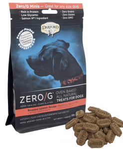 Darford Salmon Zero/g minis dog treats