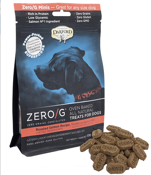 Darford Zero G Minis Roasted Salmon Dog Biscuits 170g