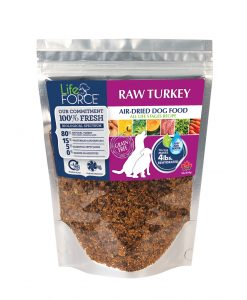 Dehydrated turkey grain free dog food