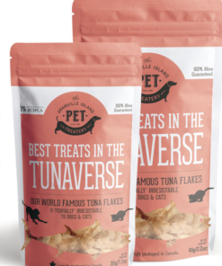 Tuna treats for dogs and cats