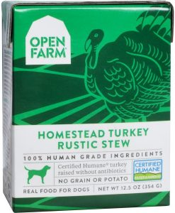 Open Farm Homestead Turkey Rustic Stew dog food