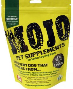 Mojo Pet Supplement CBD oil treats
