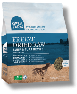 Freeze Dried Surf & Turf Raw Dog Food