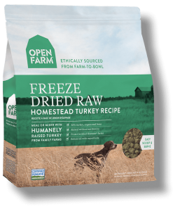 Freeze Dried Turkey Raw Dog Food.