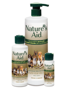 Nature's Aid natural soothing gel for Pets of all sizes