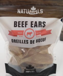 Naturawls Beef Ears Dog Treat