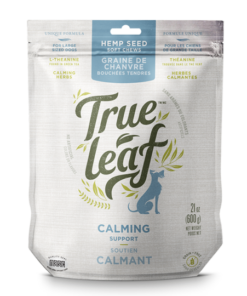 True Leaf Calming treats for dogs