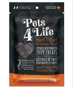 Pets 4 life tripe treats for dogs and cats
