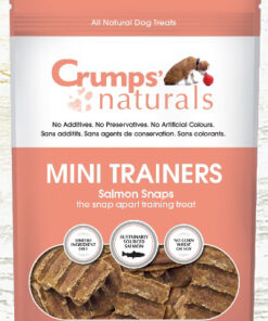 Crumps mini trainers Salmon