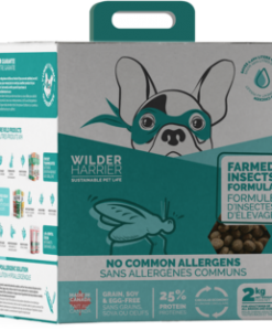 Wild Harrier Dog Food Farmed Insect Formula 2kg