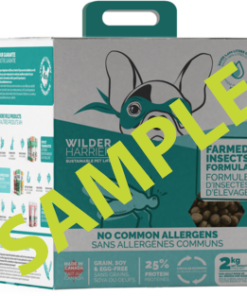 Wild Harrier Dog Food Farmed Insect Formula Sample