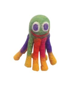 Wool pet toy mini Octopus