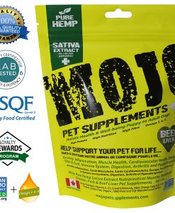 Mojo Pet Supplements CBD Beef Liver