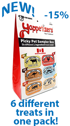 Yappetizers Picky Pet Sampler Box