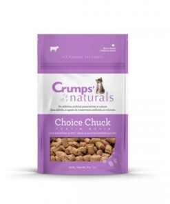 Crump's - Choice Chuck Beef - Cat Treat - Front