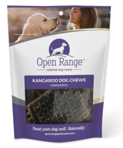 Open Range Kangaroo Strip dog chew
