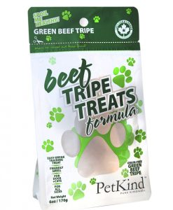 Petkind beef tripe dog treats