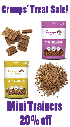 Crumps Naturals Mini Trainers SALE