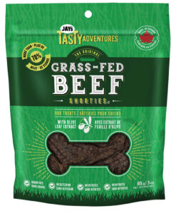 Jay's Tasty Adventures Grass-Fed Beef Shorties Dog Treat