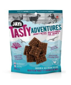 Jay's Tasty Adventures Chicken Sea Veggie Jerky